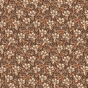 Trumpet Flower Grid - Medium - Copper