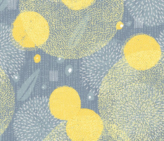 Alliums, Echinops & Billy Buttons M+M Smoke by Friztin