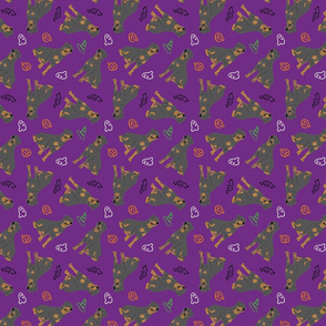 Tiny Rottweiler - Halloween