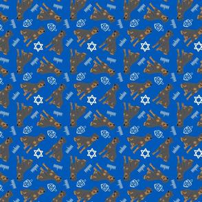 Tiny Rottweiler - Hanukkah