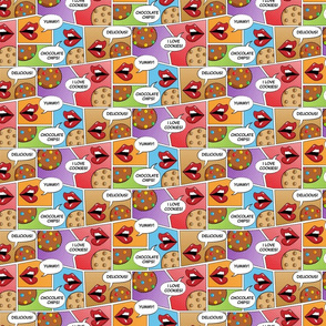 Pop Art: Cookies Chat_v2_50Size