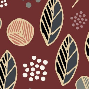 Indigenous Flora - Red Ochre - XLarge