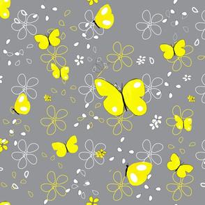 fluttering toward springtime