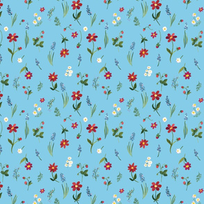 August Garden blue