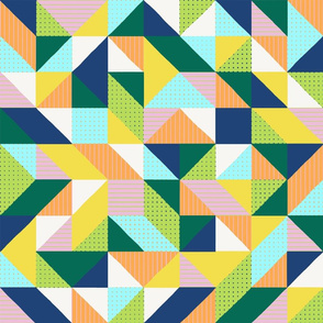 Rotating Triangle Patchwork
