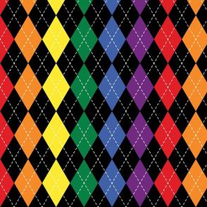 Rainbow Argyle - Small (Rainbow Collection)