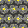 Floral_fiber_flowers_gray_yellow