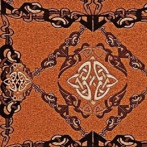 Caitrins Clay Pot Celtic Rusty Orange