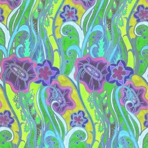 Grassflowers purple