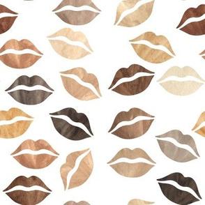 Black Lives Matter Brown Lips