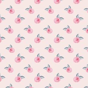 dainty watercolour rose