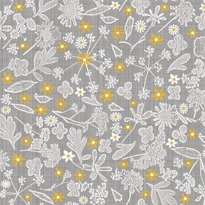 gray and yellow pantone 2021 linen
