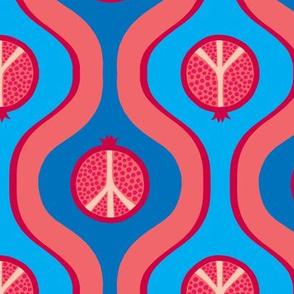"""Pomegranate Peace -  6"""""""