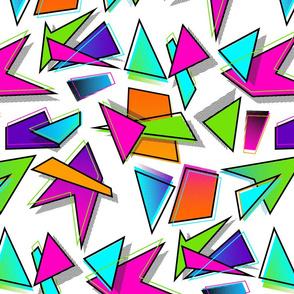 Jammin Geometry - white
