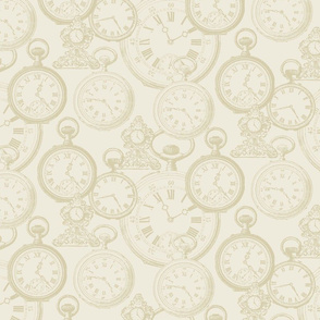 Ancestry Timepieces Cream
