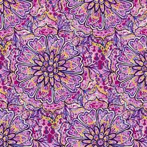 purple mandala flower