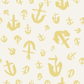 Whimsy Anchors Light in Canary