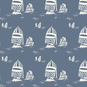 WHIMSY SAILBOATS IN OCEAN-01