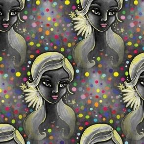 lady daisy by moonlight
