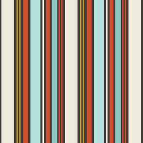 Ancestry Bold Stripe Vertical: Dark