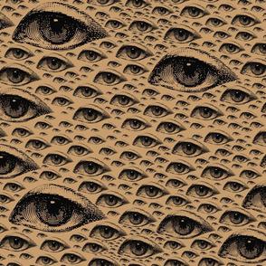 Eye Eye Eye antique lefty