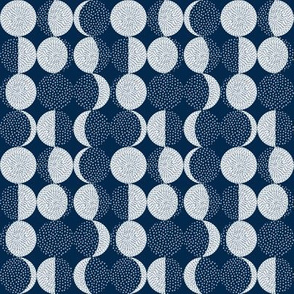 Moon Phases Embroidery / Tiny Scale