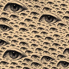 Eye Eye Eye Newsprint lefty