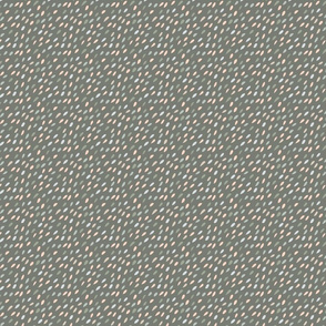 Diagonal Seeds in Neutral Green Gray Beige Small Scale