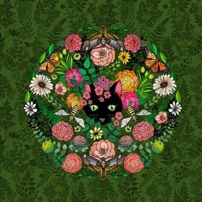 Garden Surprise Embroidery Template