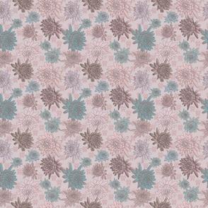 Dahlias-pink-brown-aqua