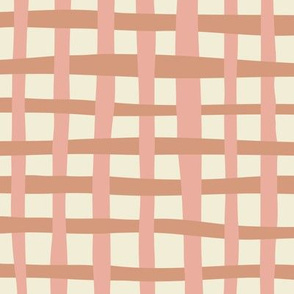 Loosely Woven  - Dusty Pink