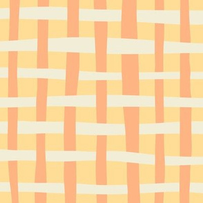 Loosely Woven - Peach