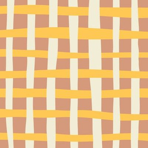 Loosely Woven - Daffodil and Sweetcorn