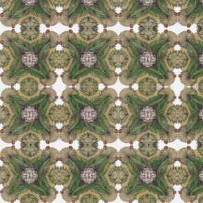 mandala in green