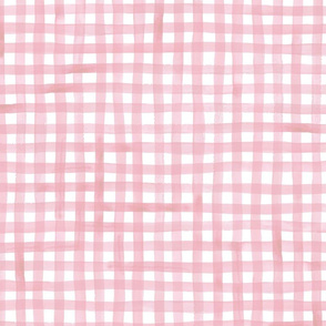Dusty Pink Gingham