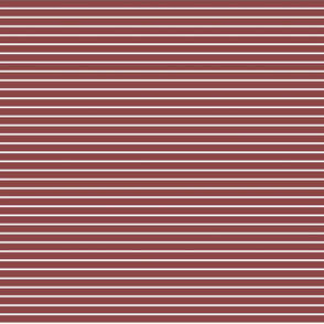 Brown and white stripes - smaller