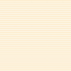 Light yellow and white stripes - smaller