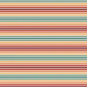 60s sunset stripes - smaller