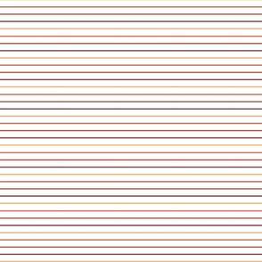 60s thin stripes sunset - smaller