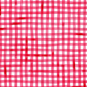Picnic Red Gingham