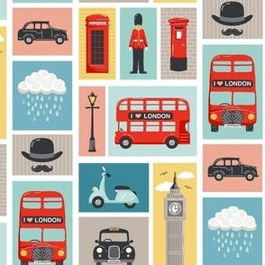 London patchwork
