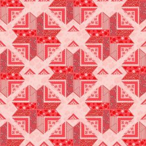 Sakura modern quilt
