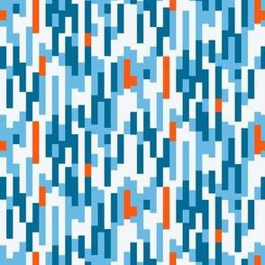 colored lines 1cm - blue en orange