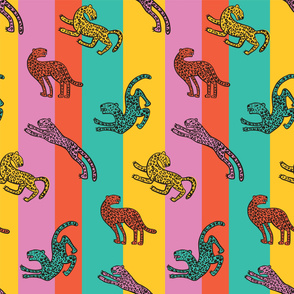 Rainbow Cats Large Scale