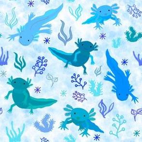Axolotl Blue Tones, small