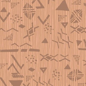 Mudcloth Scatter Tan