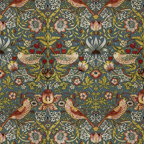 William Morris ~ Strawberry Thief ~  Custom Slate
