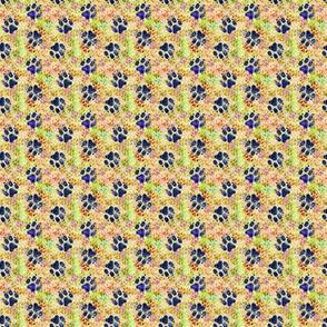 Cosmic medium dog paw prints - day