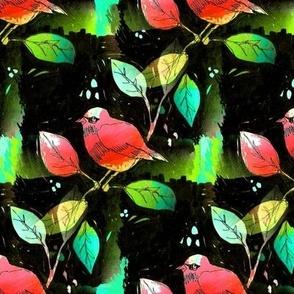 bird on a branch multi