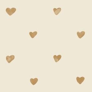 Gold Soft Hearts